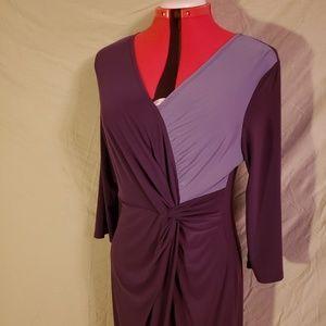 NWT Antthony Purple Dress